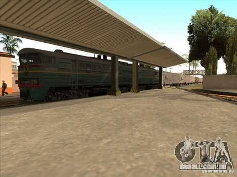 2te10v-3594 para GTA San Andreas esquerda vista