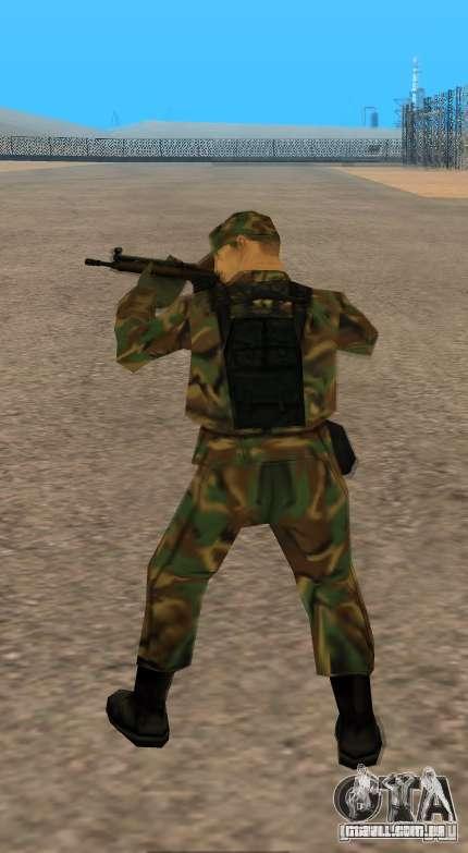 G3A3 Rifle de assalto para GTA San Andreas quinto tela