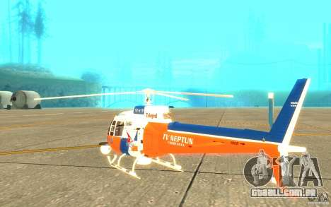 AS-350 TV para GTA San Andreas vista direita