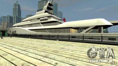 Yacht v1 para GTA 4 vista direita