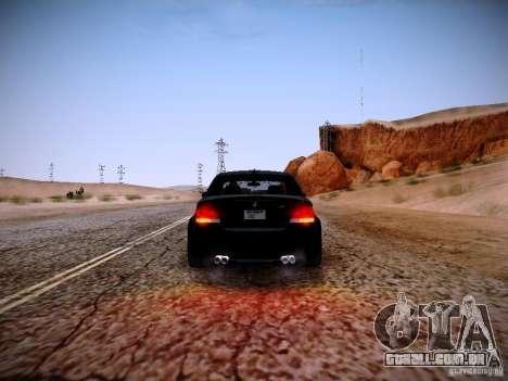 BMW 1M v2 para vista lateral GTA San Andreas