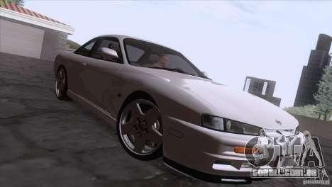 Nissan Silvia S14 Kouki para GTA San Andreas vista interior