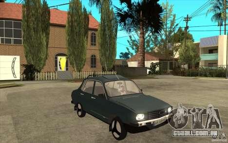 Dacia 1300 Cocalaro Tzaraneasca para GTA San Andreas vista traseira