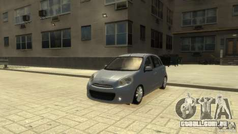 Nissan Micra para GTA 4