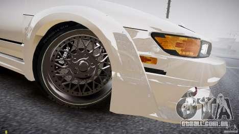 Nissan Sileighty para GTA 4 vista interior