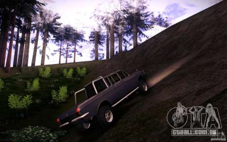 GAZ 2402 4 x 4 PickUp para GTA San Andreas vista interior