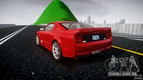 Saleen S281 Extreme - v1.2 para GTA 4 traseira esquerda vista