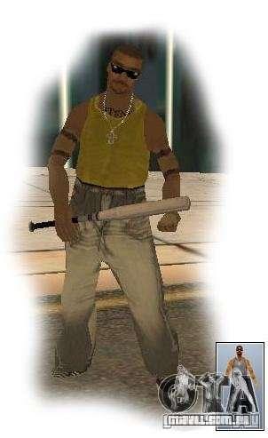 Gangue de vagos para ruas do Crime para GTA San Andreas