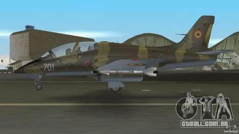I.A.R. 99 Soim 701 para GTA Vice City vista traseira esquerda