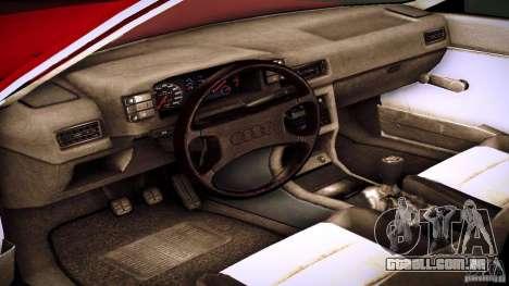 Audi 80 B2 para GTA San Andreas traseira esquerda vista