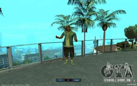Crime Life Skin Pack para GTA San Andreas sétima tela