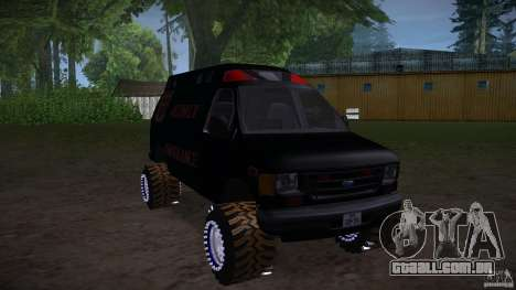Ford E-450 Off Road para GTA San Andreas vista direita
