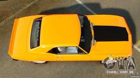 Chevrolet Camaro Z28 1969 para GTA 4 vista direita
