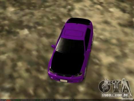 Lexus IS300 - Stock para GTA San Andreas vista direita