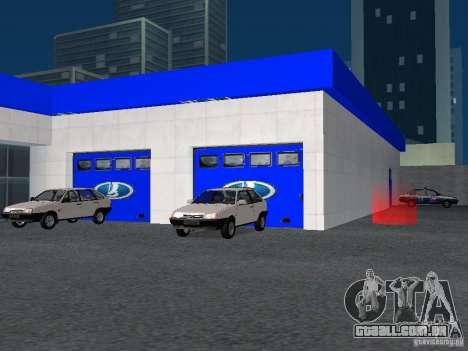 Auto VAZ para GTA San Andreas sexta tela