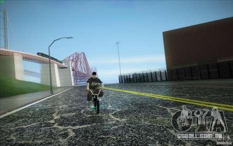 New roads San Fierro para GTA San Andreas quinto tela