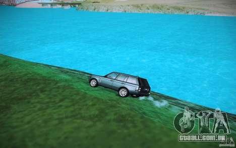 Água de HD para GTA San Andreas por diante tela