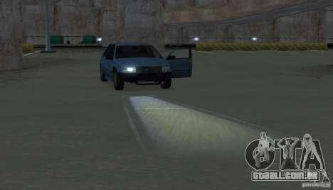 Faróis de halogéneo para GTA San Andreas sétima tela