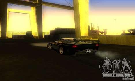 ENB Graphics by KINOman para GTA San Andreas segunda tela