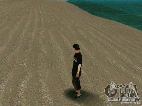 New wmybmx para GTA San Andreas por diante tela