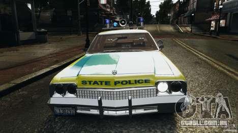 Dodge Monaco 1974 Police v1.0 [ELS] para GTA 4 motor