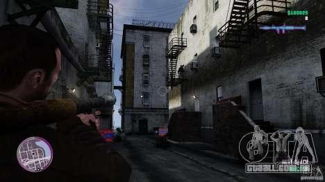 VC estilo Radar/HUD (pele 3) para GTA 4 por diante tela