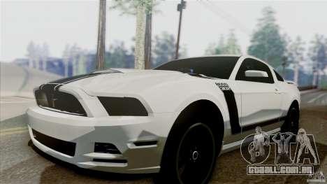 SA Beautiful Realistic Graphics 1.5 para GTA San Andreas por diante tela