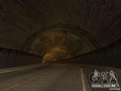 GTA SA 4ever Beta para GTA San Andreas por diante tela