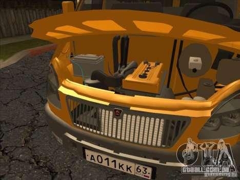 GAZ 22171 Sable para GTA San Andreas vista traseira