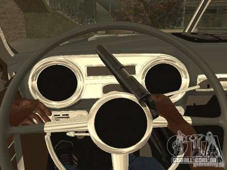 Hudson Hornet 1952 para GTA San Andreas vista direita