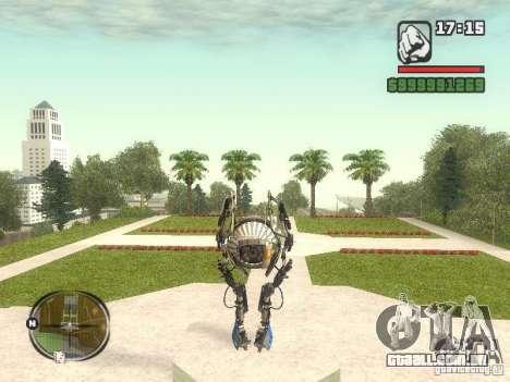 Robô de Portal 2 # 1 para GTA San Andreas terceira tela
