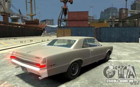 Pontiac GTO v1.1 para GTA 4 vista direita