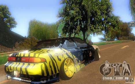 Nissan Silvia S14 zenki matt powers para GTA San Andreas vista direita