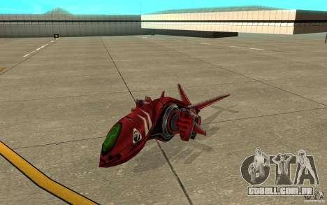 MOSKIT air Command and Conquer 3 para GTA San Andreas esquerda vista