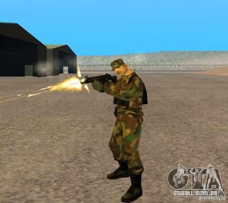 G3A3 Rifle de assalto para GTA San Andreas por diante tela