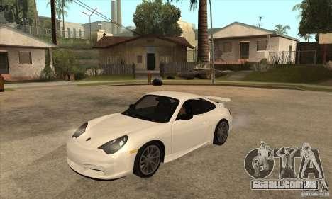 Porsche 911 GT3 (996) para GTA San Andreas