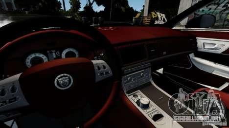 Jaguar XJ 2012 para GTA 4 vista lateral