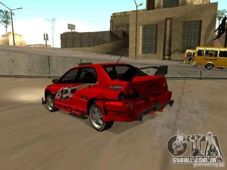 Vinil para GTA San Andreas por diante tela
