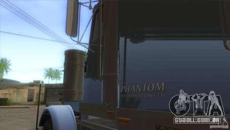 Fantasma do GTA IV para GTA San Andreas vista interior