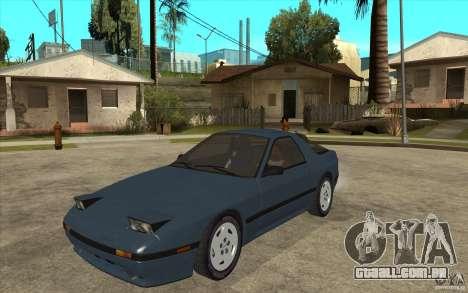 Mazda RX7 FC3S Stock para GTA San Andreas