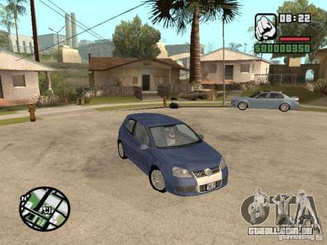 VW Golf R32 Tunable para GTA San Andreas
