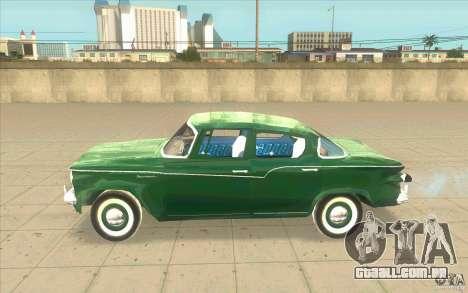 Studebaker Lark 1959 para GTA San Andreas esquerda vista