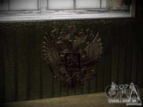 Brasão de armas da Rússia para GTA San Andreas