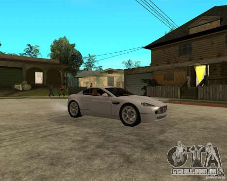 Aston Martin VANTAGE concept 2003 para GTA San Andreas vista direita