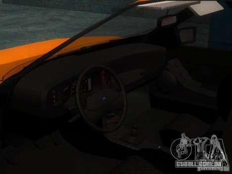 Ford Sierra Mk1 Sedan para GTA San Andreas vista traseira