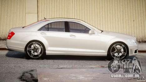 Mercedes-Benz S63 AMG [Final] para GTA 4