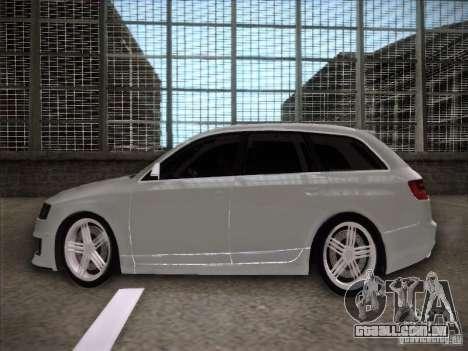 Audi RS6 Avant para GTA San Andreas esquerda vista