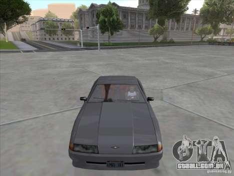 Elegy Full VT v1.2 para GTA San Andreas