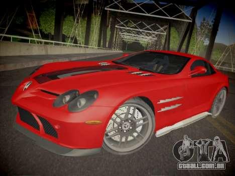 Mercedes-Benz SLR 722 Custom Edition para GTA San Andreas