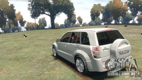 Suzuki Grand Vitara para GTA 4 vista direita